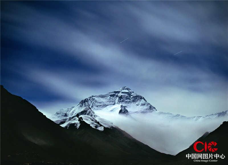 2004年8月,西藏,珠穆朗瑪峰,淩晨3點